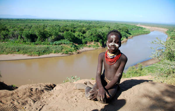 The Gibe III dam will stop the Omo River's natural flood, on which the tribes depend.