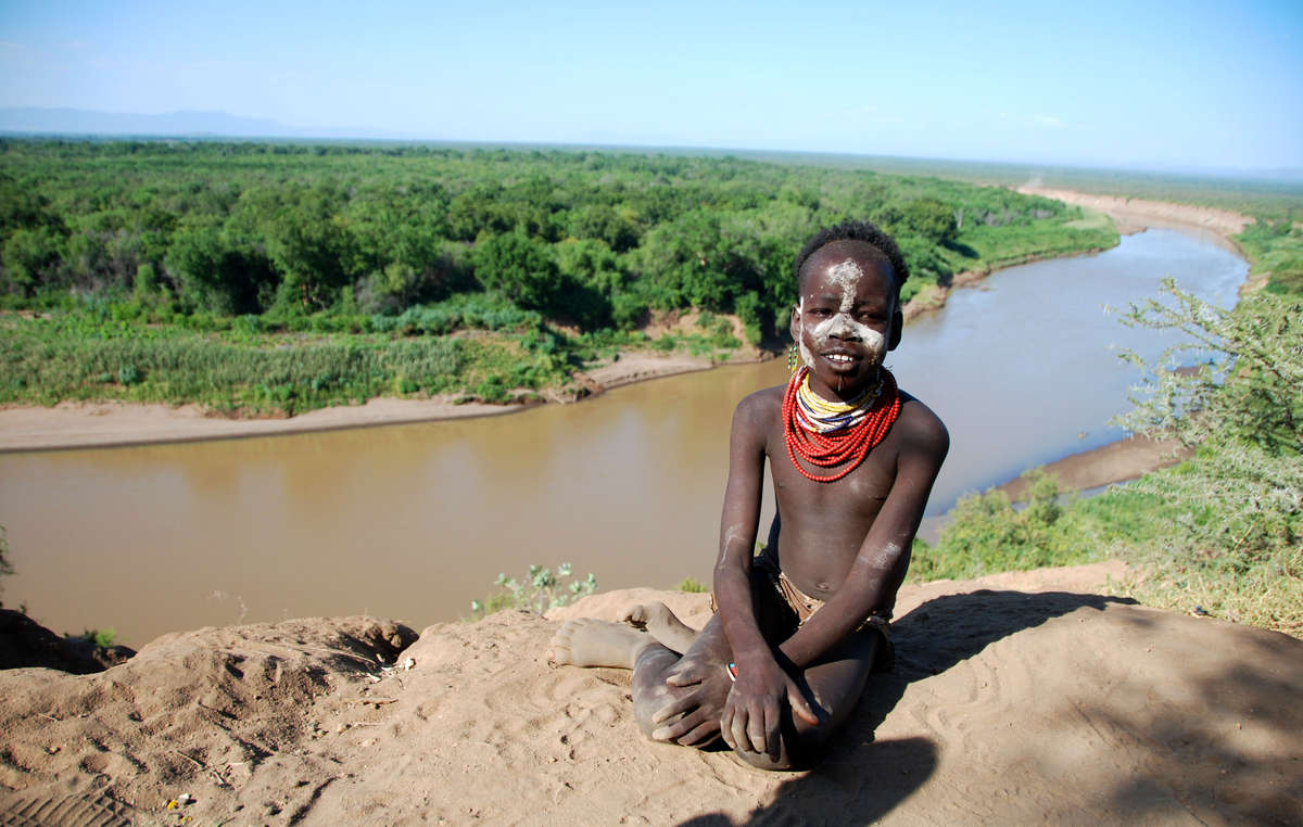 The Gibe III dam will stop the Omo Rivers natural flood, on which the tribes depend.