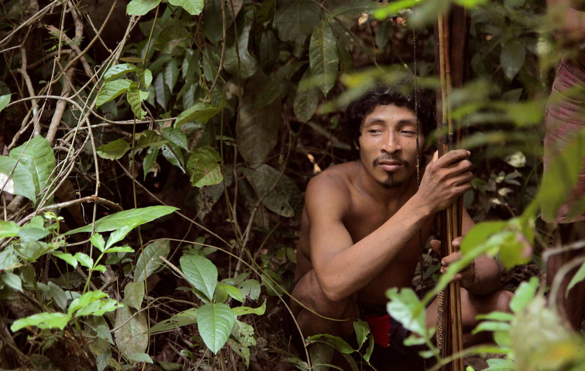 The Awá are Earths most threatened tribe; without their forest, they will not survive.
