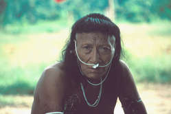 The Nahua had first contact with the outside world after oil exploration on their land. More of the 50% of the tribe died.