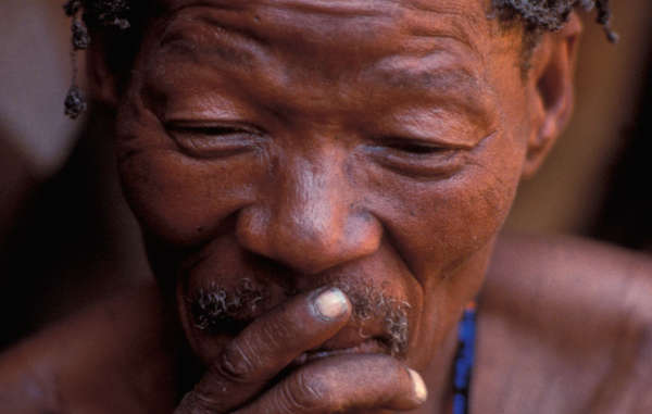 The Bushmen are prevented from hunting game on their ancestral land in the name of conservation, which a judge likened to condemning the tribe to 'death by starvation'.