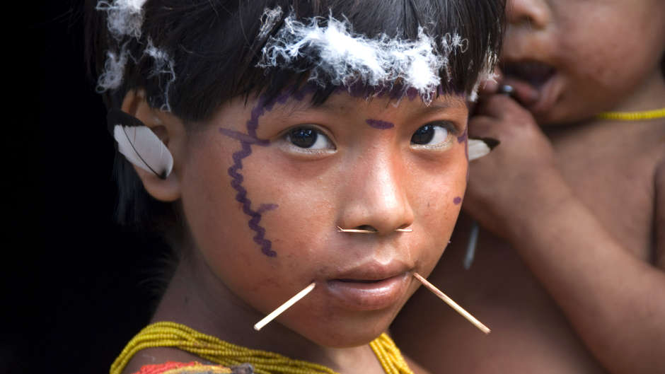 A measles epidemic has hit the Yanomami tribe on the Brazil-Venezuela border who have little immunity to the disease.