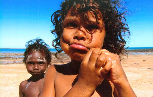 Bambini aborigeni, Australia.