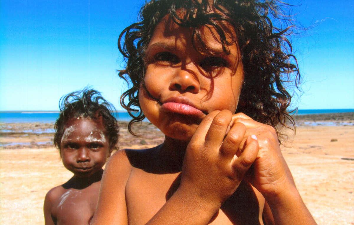 Aboriginal children, Australia.