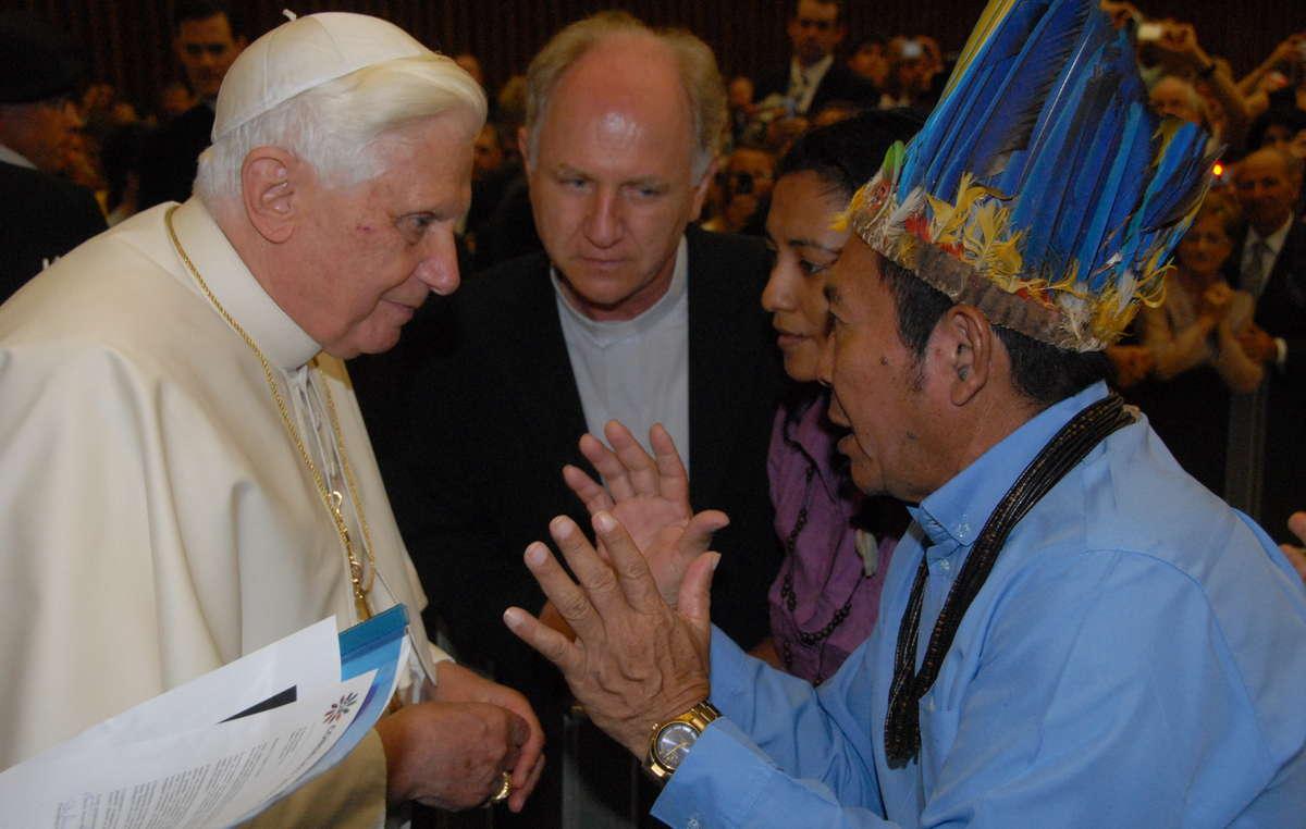 La lotta per la terra ha più volte portato in Italia rappresentanti del CIR e dei Makuxi di Raposa Serra do Sol.