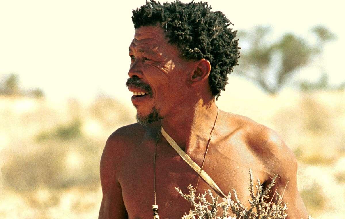 Dawid Kruiper était une 'icône' et un porte-parole majeur des San du sud du Kalahari.