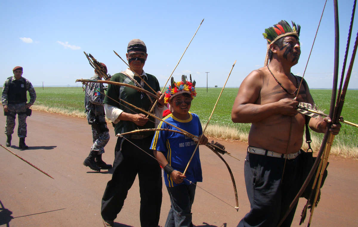 The Guarani feel a deep sense of connection to their land and have protested against its theft and destruction