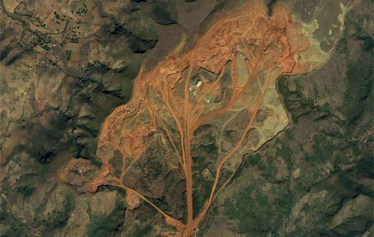 Bauxit-Mine Panchpatmali.