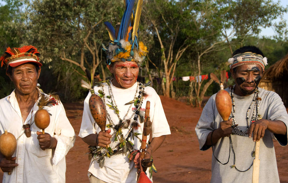 The Guarani have a deep sense of connection to their land, but have seen most of it stolen and destroyed by intensive agriculture.