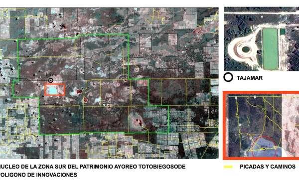 Des photos satellite ont révélé la présence d'un réservoir récemment construit.