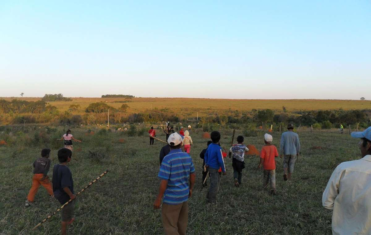 The violent attack has left the Guarani afraid and angry, but determined to remain on their land.