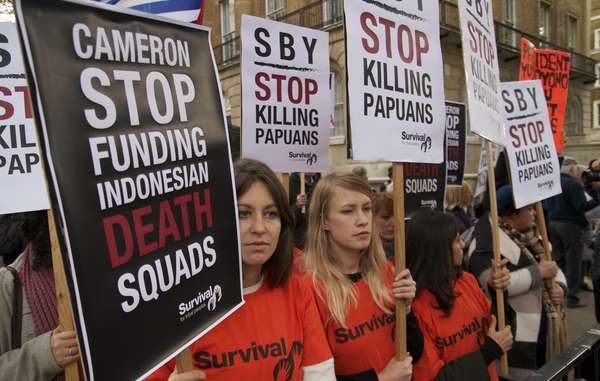UK funding has been linked to an Indonesian counter-terrorism unit implicated in the murder of Papuan independence leaders.