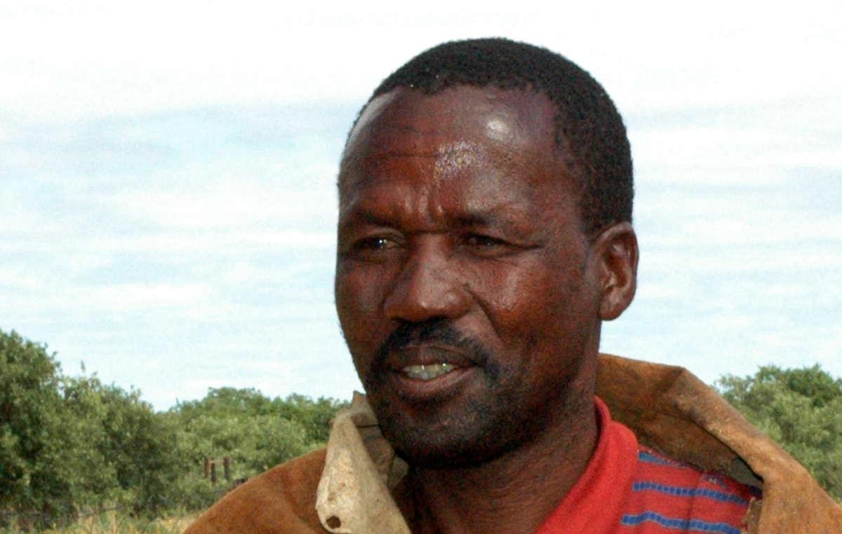 Amogelang Segootsane a été conduit à l'hôpital après avoir été frappé par les gardes forestiers.