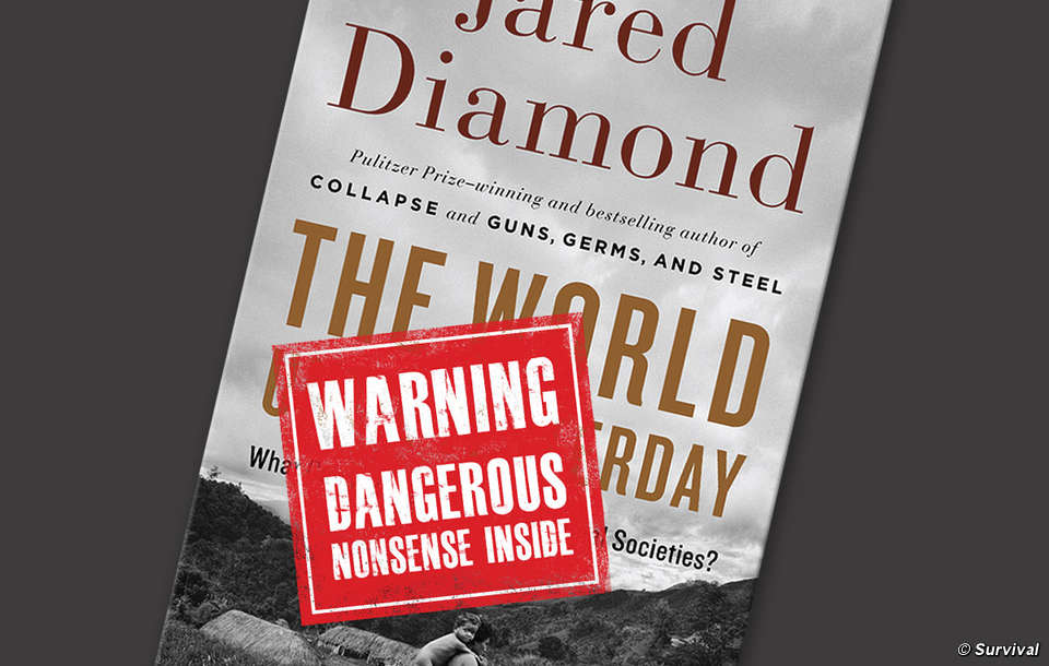Jared diamond's thesis