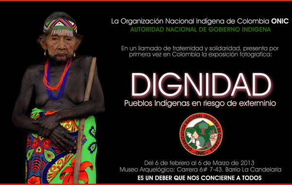 ONIC's campaign aims to stop the imminent extinction of Colombia's tribal peoples