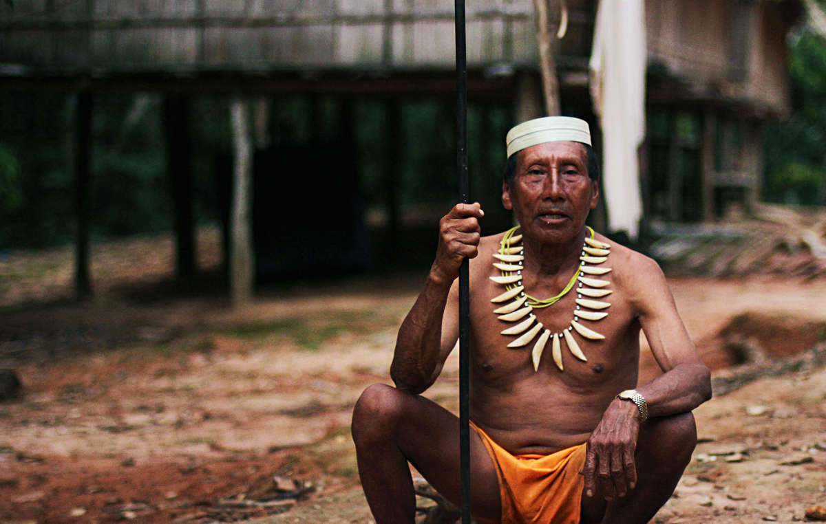 Contacted Matsés who live nearby have strongly opposed the oil exploration