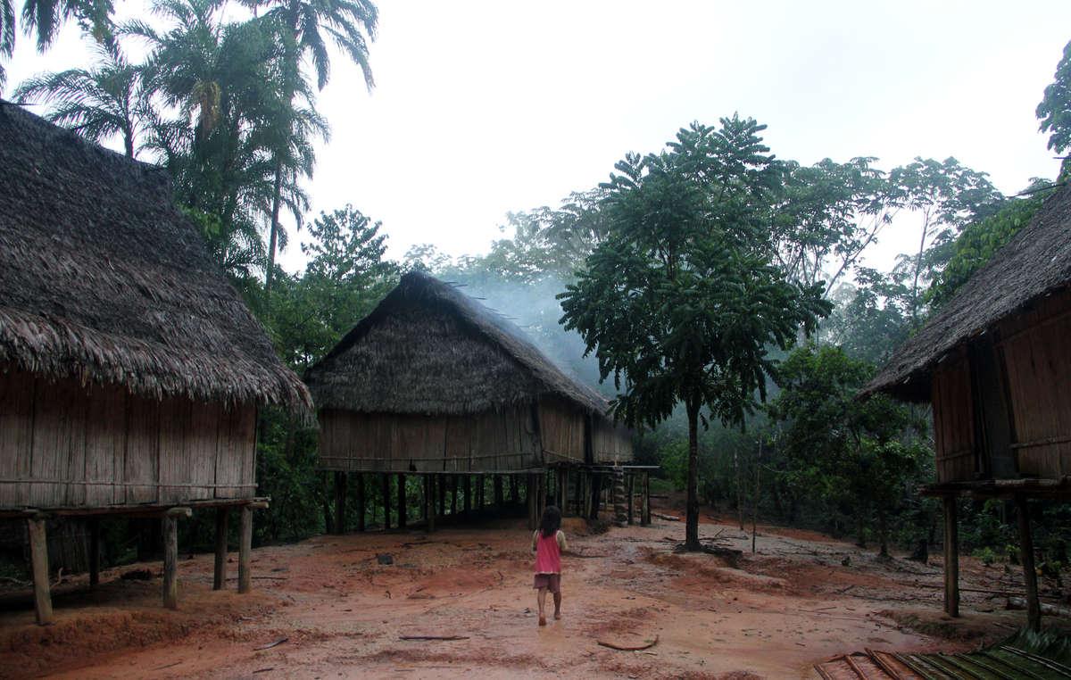 Die Matsés kennen keine Grenzen. Für sie ist das ganze Gebiet, das sich über brasilianisches und peruanisches Territorium erstreckt, ein einziges, ihr angestammtes Land.
