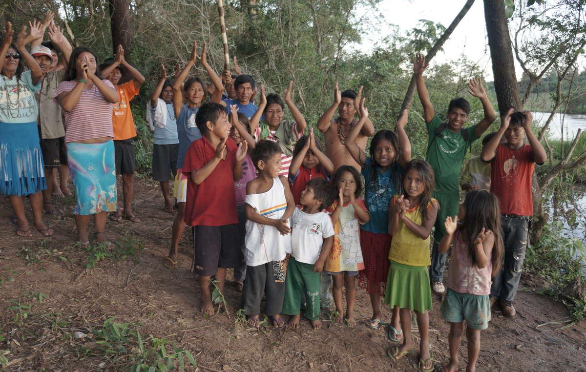 Les Guarani célèbrent une victoire territoriale