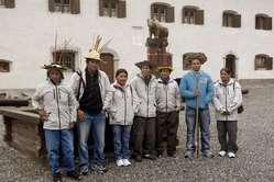 Die Teilnehmer des Guaporé Projekts in Europa, 2009. Foto: Gleice Mere