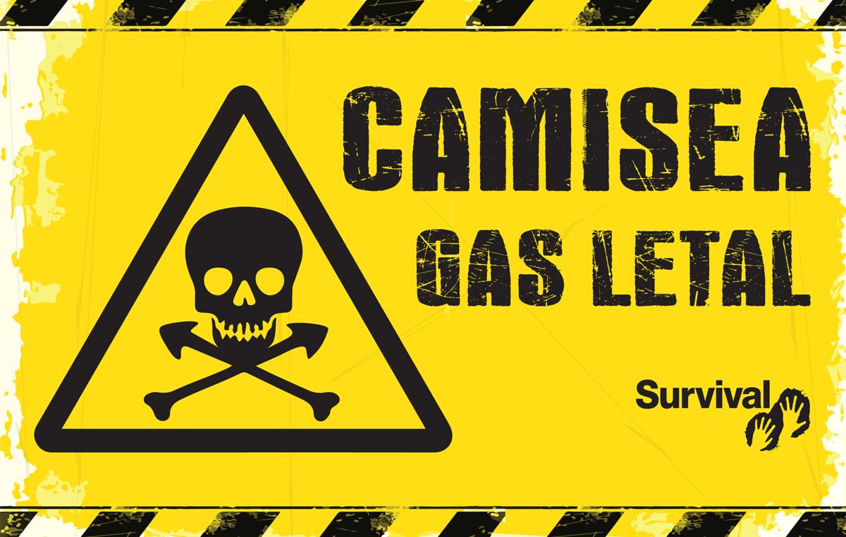 Los manifestantes portarán pancartas que simbolizan las letales consecuencias del proyecto Camisea para las tribus no contactadas.