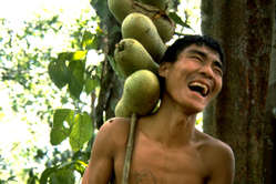 The Penan, in Malaysian Borneo, are one of many tribes around the world threatened by oil palm.