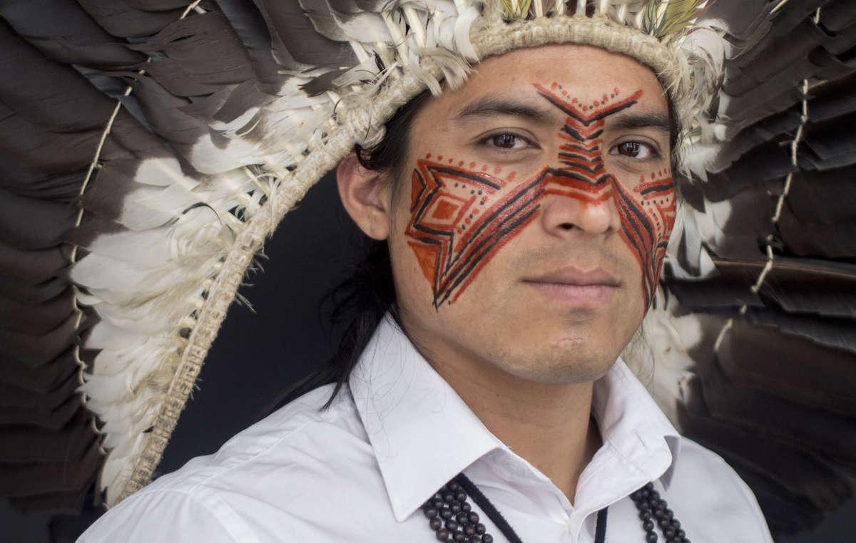 Nixiwaka Yawanawá está prestes a ser o primeiro índio da Amazônia a subir Ben Nevis.