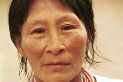Femme nahua, Pérou.