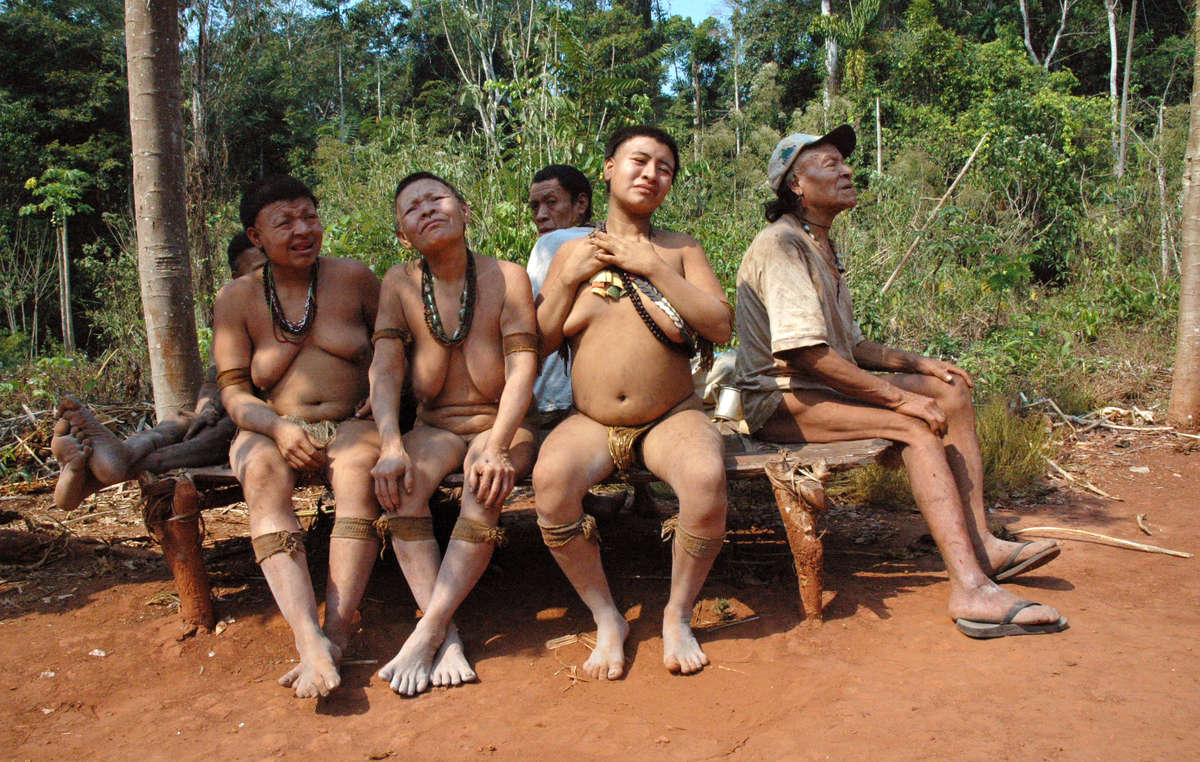 Five Akuntsu are the last survivors of a silent genocide in Brazil.