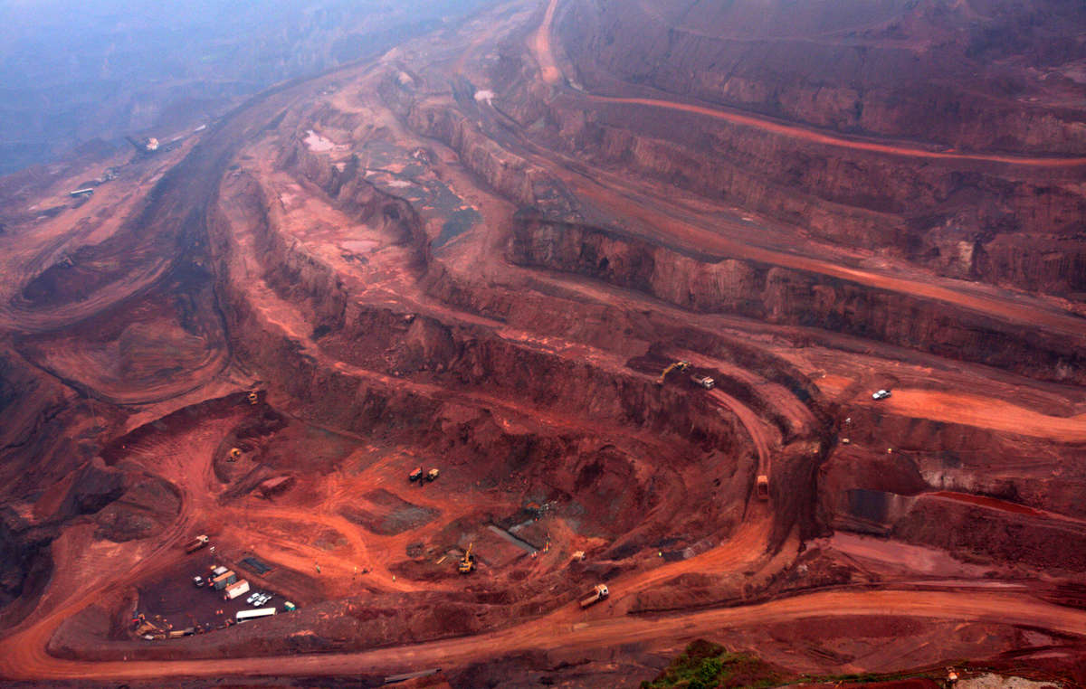 The Carajás mine has opened up Awá land to unprecedented invasions by outsiders.