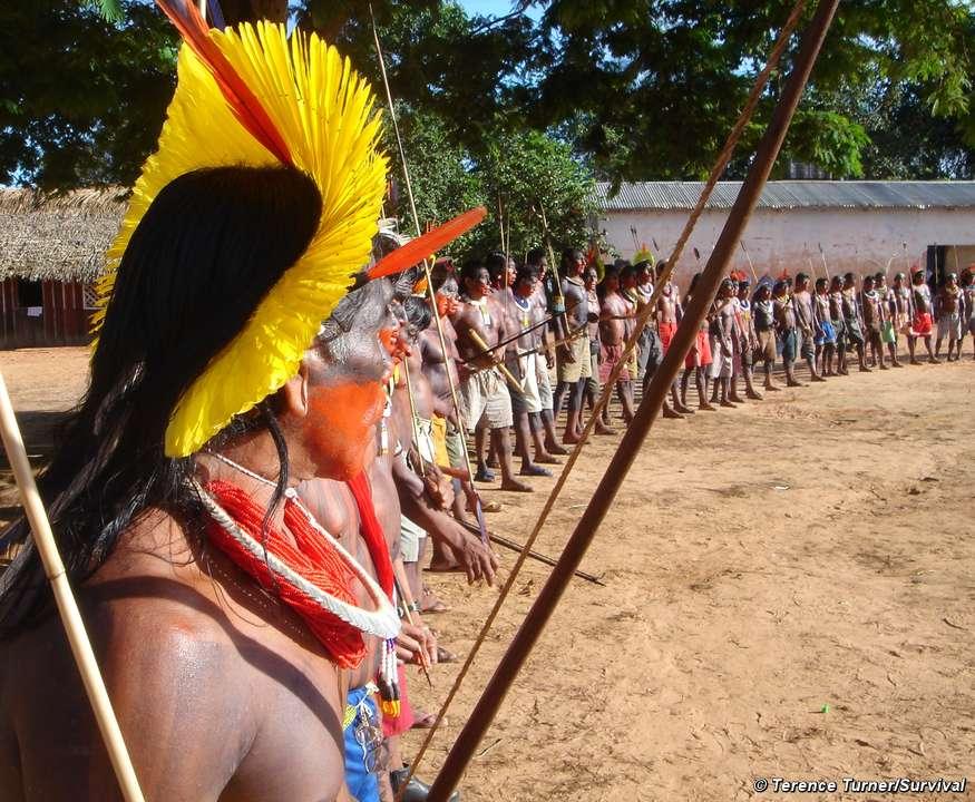 Xingu River Indigenous spokesman d...
