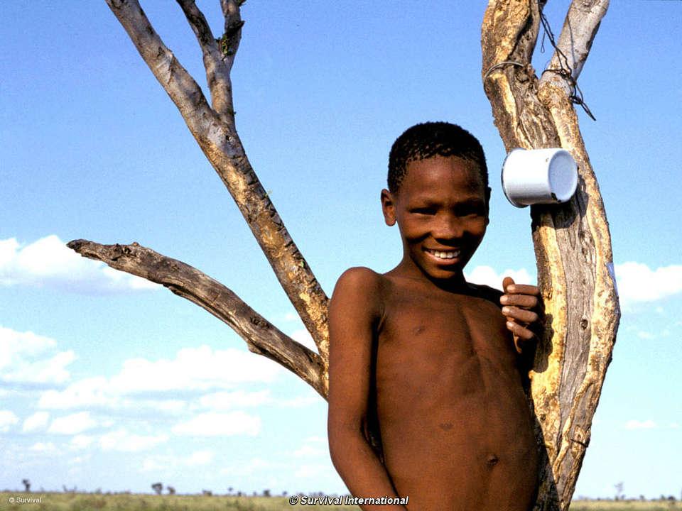 Valuable phrase San people of botswana