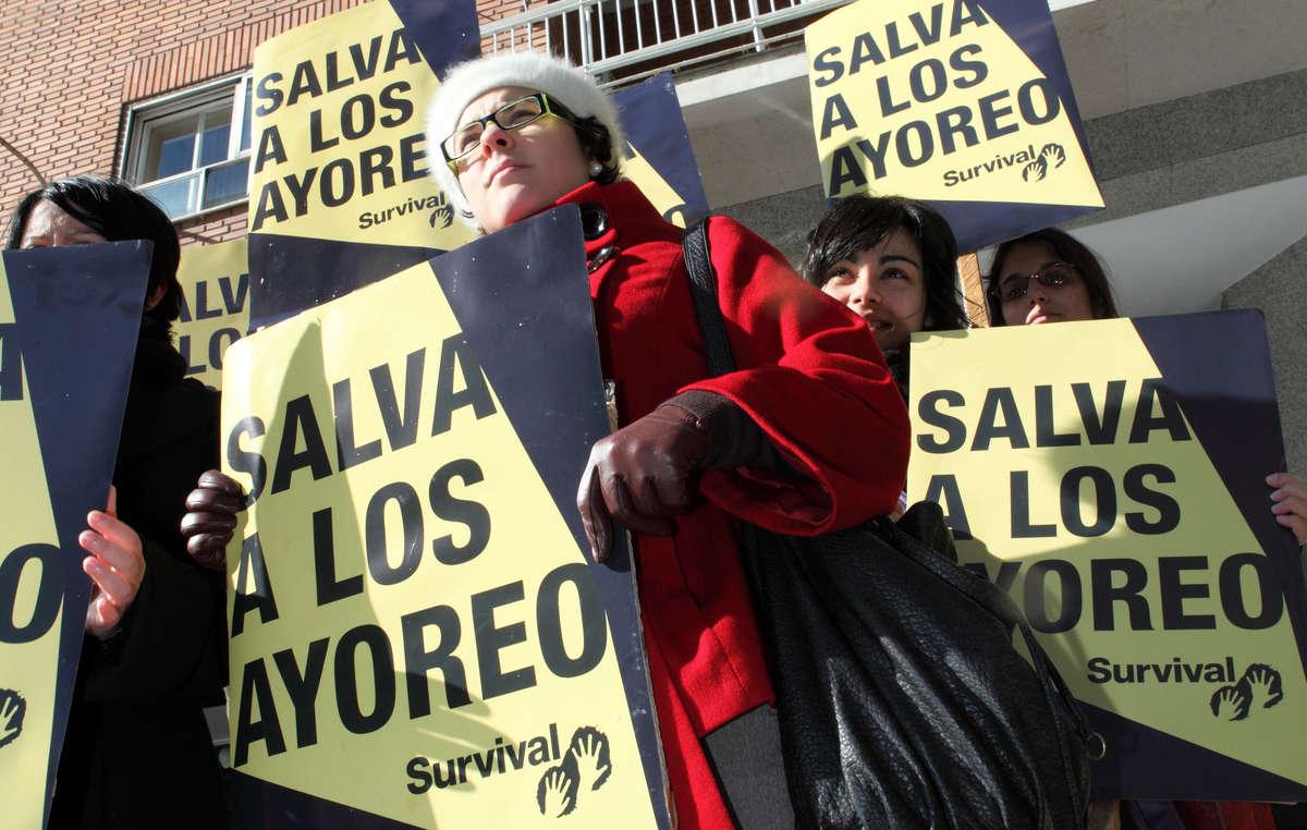 Manifestantes pedirán a Grupo San José que salve a los ayoreos en la antesala de su Junta General de Accionistas.