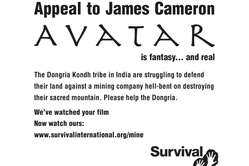 Survival's appeal to James Cameron appears today in Variety magazine.