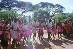 Members of the Endorois tribe, Kenya.