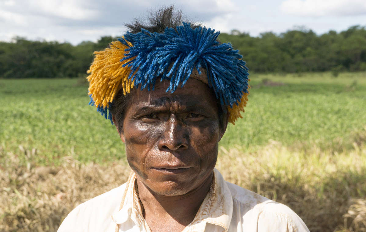 The leader of a Guarani community has sent a desperate plea for his tribes ancestral land to be returned.