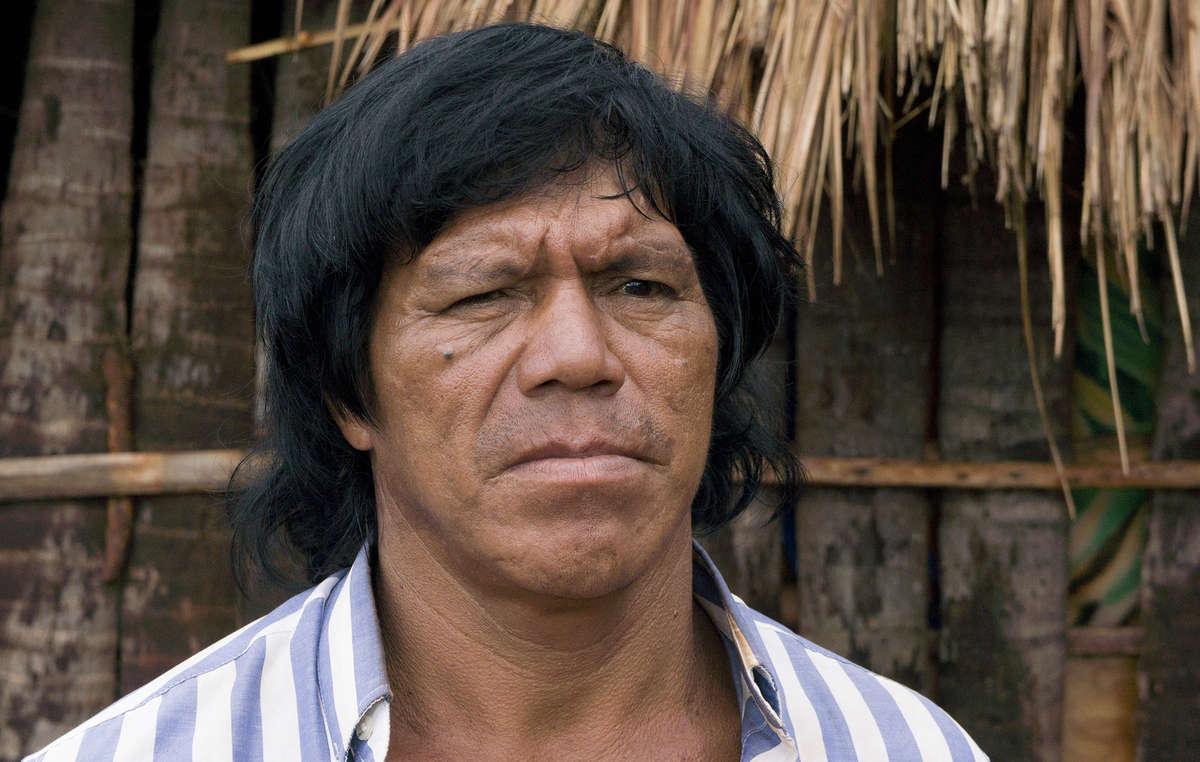 Uno de los líderes de Guyra Roka, Ambrosio Vilhalva, fue asesinado en 2013.