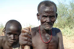 The Kwegu are entirely dependent on the Omo river for their survival.