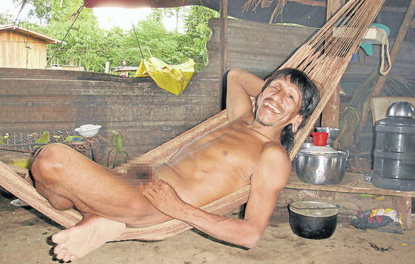 Ompore Omeway, a Waorani man who was recently killed alongside his wife.
