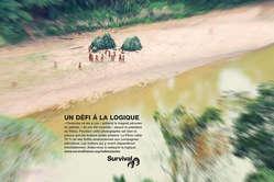 Survival lance une campagne mondiale de publicité en faveur des Indiens isolés du Pérou.