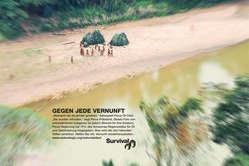 Survival startet eine internationale Anzeigenkampagne zum Schutz unkontaktierter Indigener in Peru.