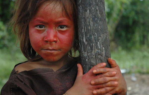 Ashéninka Mädchen in Südost Peru