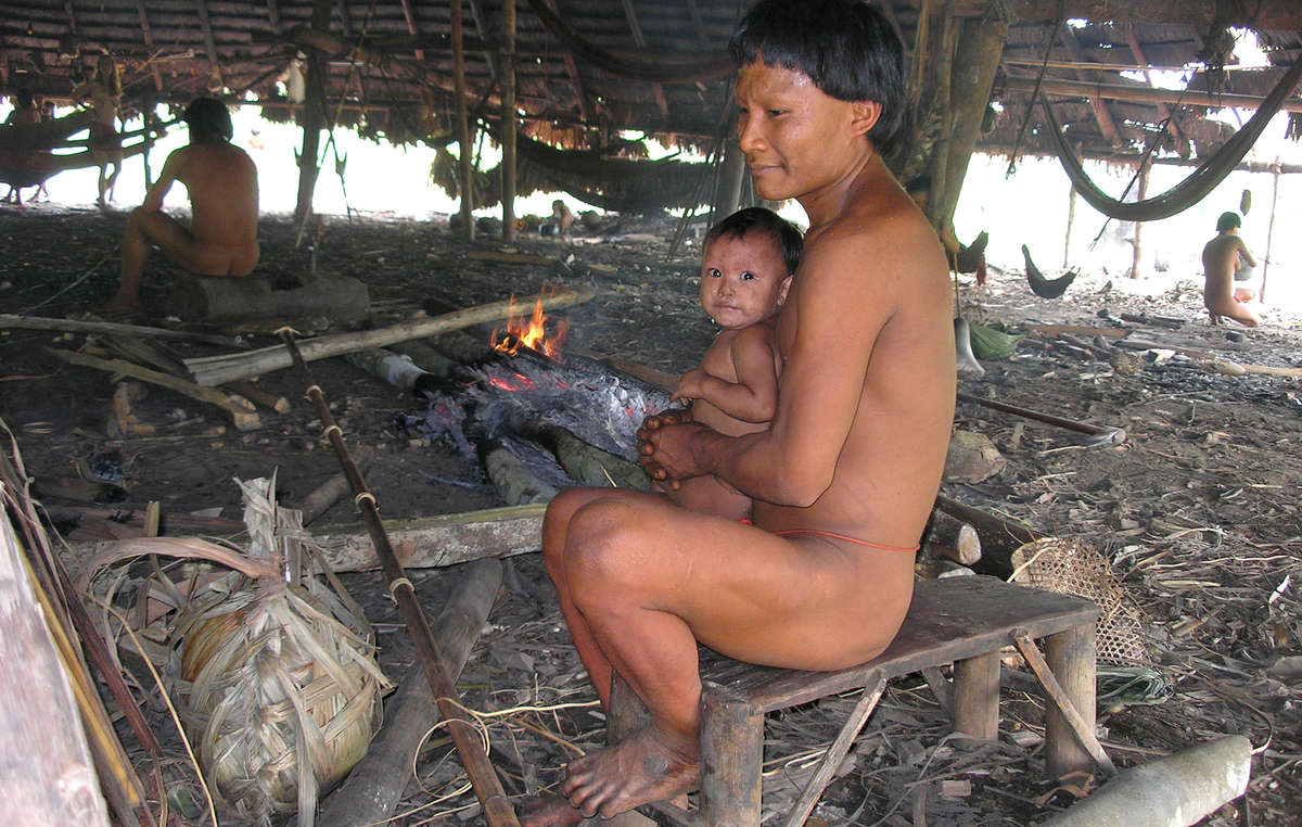The Suruwaha are an isolated tribe, highly vulnerable to introduced diseases.