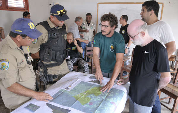 Brazil has finally launched a major ground operation to evict illegal invaders from the Awás land.