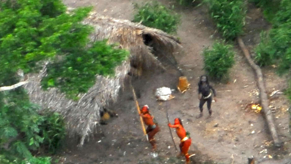An American missionary is being questioned by Brazilian authorities after he allegedly entered the territory of an uncontacted tribe.