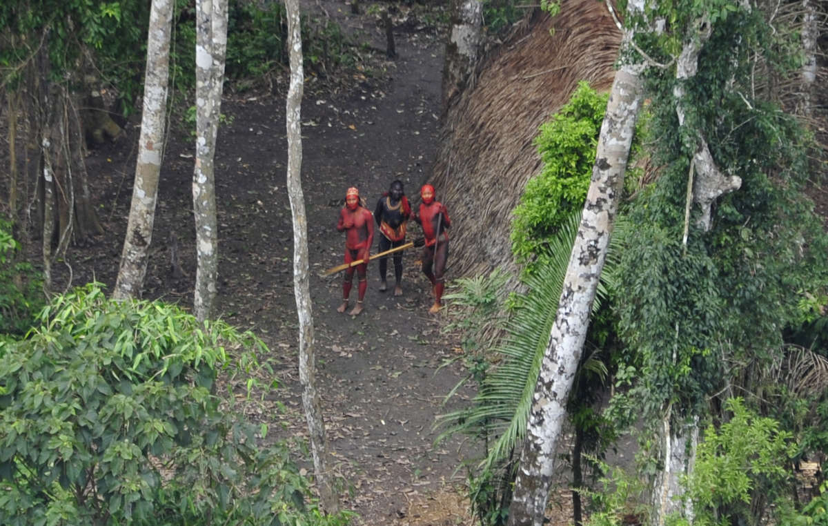 Uncontacted tribes thrive when their lands are protected.