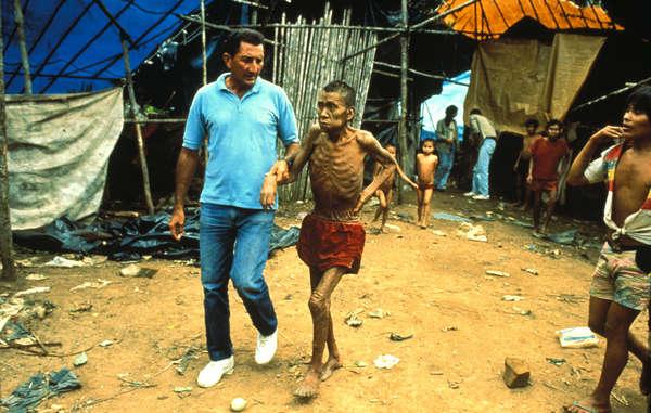 In passato le epidemie hanno ucciso il 20% degli Yanomami in Brasile.