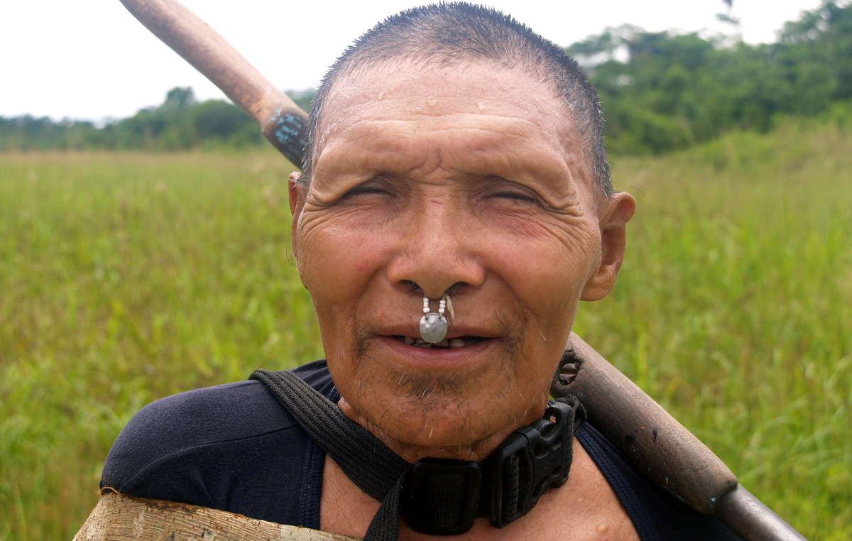 Quelques Murunahua, dont cet homme, ont été contactés il y a quelques années.