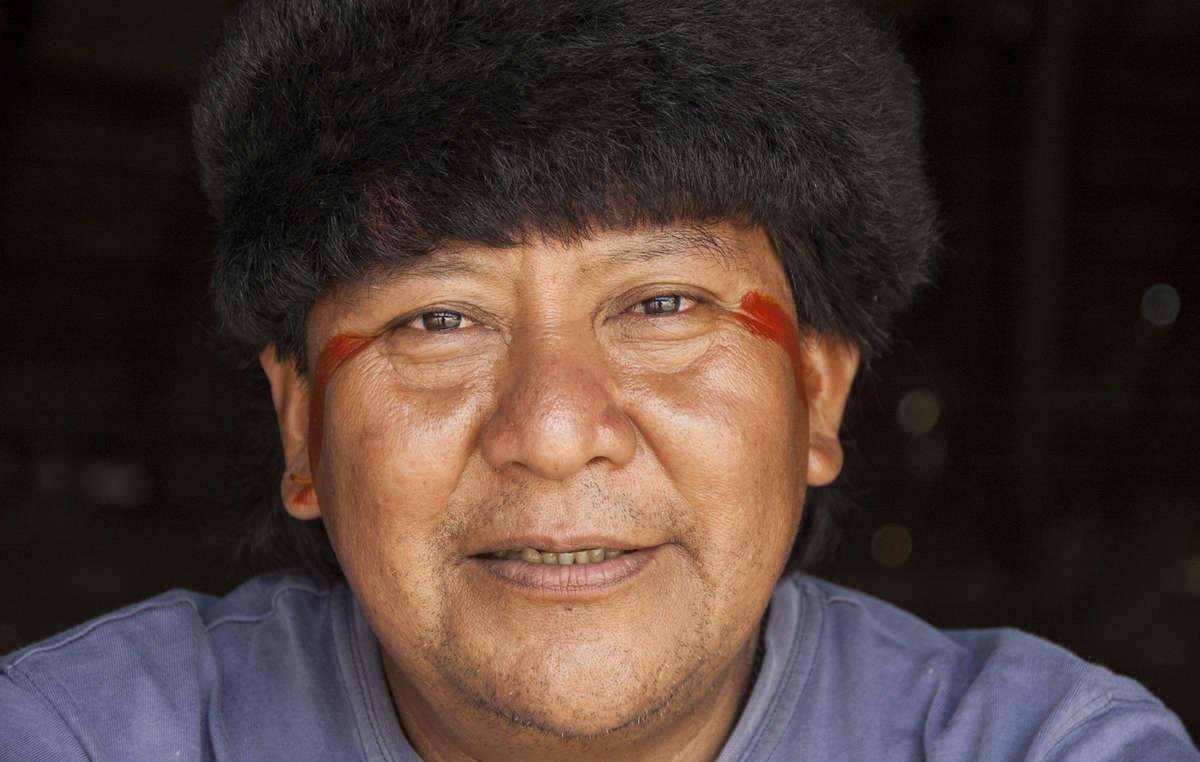 Davi Kopenawa, chamane et porte-parole yanomami, a reçu l'Ordre du Mérite culturel brésilien.