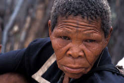 Todays ruling is a blow to the Bushmen. Xoroxloo Duxee died of dehydration in 2005.