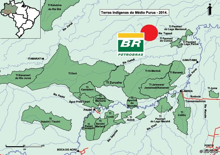 The dark side of brazil oil giant petrobras moves into deepest petrobras has started exploring for oil and gas red circle in one of the most isolated parts of the amazon gumiabroncs Gallery